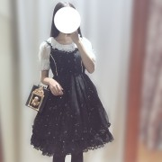 Starry Sky Lolita Dress JSK