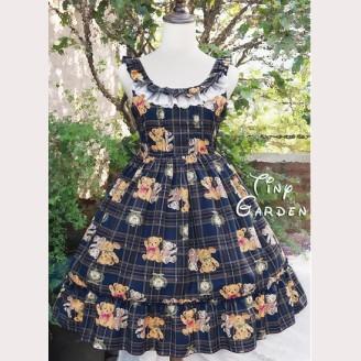 Tiny Garden Teddy Bear Lolita Dress JSK