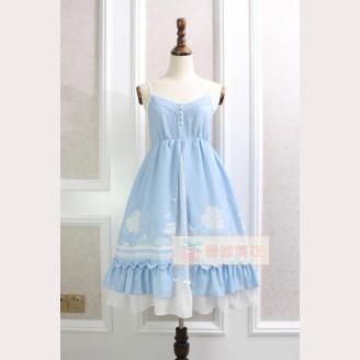 Stars, Moon & Cat Lolita Dress JSK