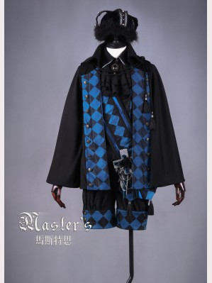 Classical Puppets Master's-Blue Rose Crowned Outfit (4pc)
