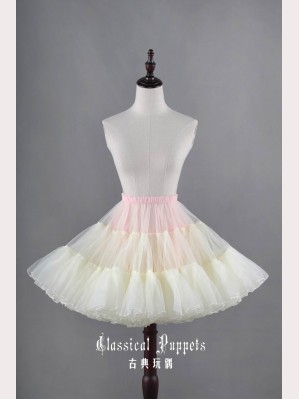 "Classical Puppets ""Ice Cream"" fluffy petticoat (Special edition)"