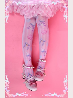 Diamond Honey Cats & Toys Lolita Thigh-high socks