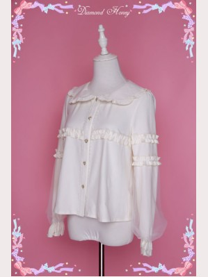 Diamond Honey gauze sleeves lolita blouse