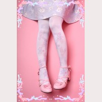 Diamond Honey Rabbit Bear Butterfly Lolita Thigh-high socks