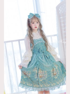 Diamond Honey Chandelier stars lolita dress JSK