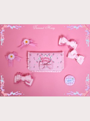 Diamond Honey Spring Strawberries Lolita Wallet / Purse