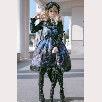 "Diamond Honey ""Dragon and Knight Cats"" Gothic Lolita Series"
