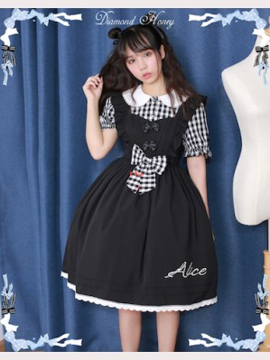 Diamond Honey Alice Plaid Lolita dress OP