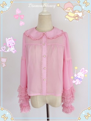 Diamond Honey Candy Chiffon Lolita Blouse