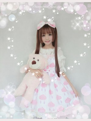 Diamond Honey Clouds Lolita Dress JSK