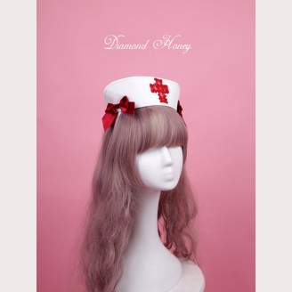 Diamond Honey Doll Nurse Hat KC