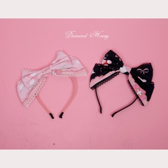 Diamond Honey Doll Nurse Lolita matching headbow KC