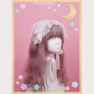 Diamond Honey Good Night Rabbit & Bear Lolita Headdress