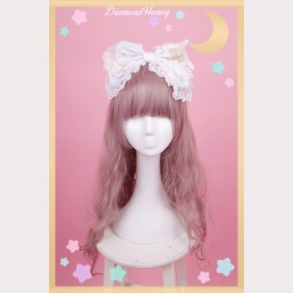 Diamond Honey Good Night Rabbit & Bear Lolita Headbow KC