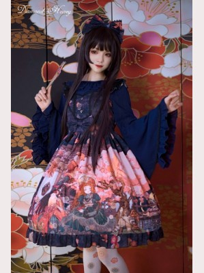 Diamond Honey Taisho's romantic fantasy Lolita Series