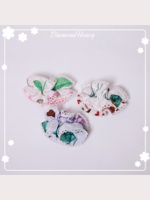 Diamond Honey Strawberry & Chocolate Lolita wristband X 1 pair
