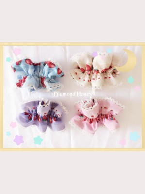 Diamond Honey Strawberry Research Room lolita wristband X 1 pair