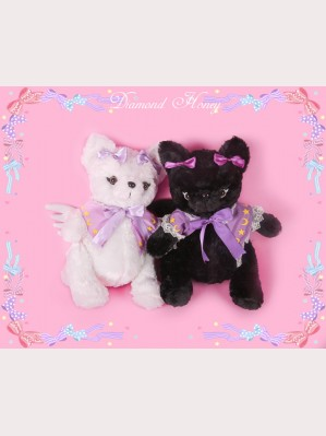 Diamond Honey Angel Cat & Devil Cat Backpack