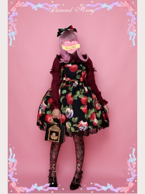 Diamond Honey Apple Snow White Lolita Dress JSK