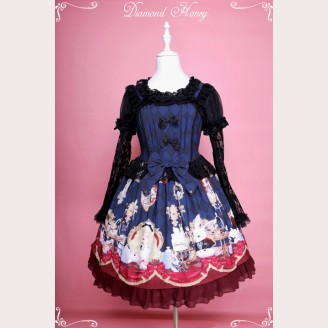 "Diamond Honey ""Dark Alice"" Gothic Lolita Dress JSK"