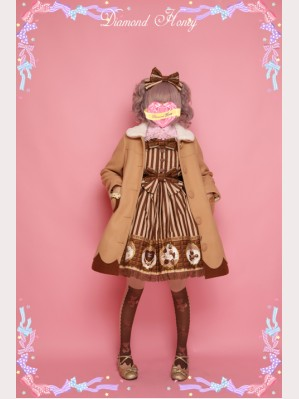 Diamond Honey Lolita Woolen Coat