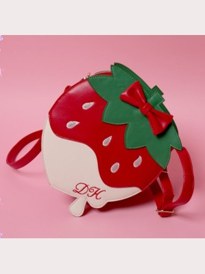 Diamond Honey Cherry & Strawberry Lolita Shoulder Bag