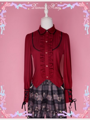 Diamond Honey Classic Lady Gothic Lolita Blouse