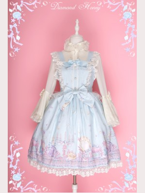"Diamond Honey ""Dream cosmetics"" Lolita Dress JSK"