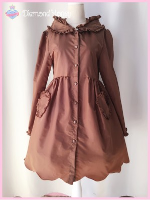 Diamond Honey Waterproof Brown Bear Raincoat