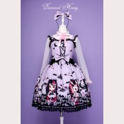 "Diamond Honey ""Cemetery carnival"" Gothic Lolita Dress JSK"