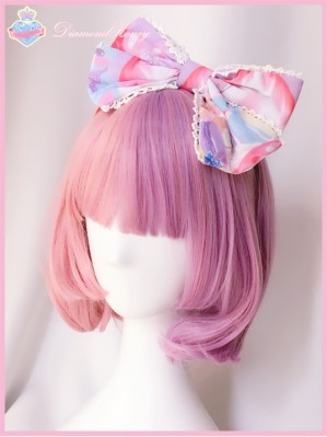 "Diamond Honey ""Strawberry Cake"" Headbow KC"