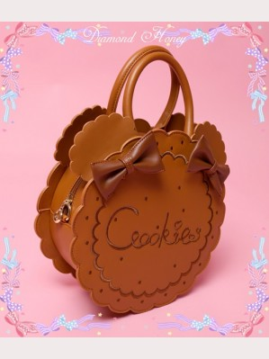 Diamond Honey Bear Cookie Lolita Handbag