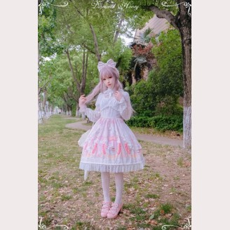 "Diamond Honey "" Fairy tale roses rabbit "" Lolita dress OP"