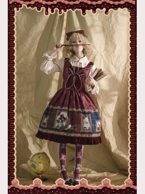 Infanta Magic Dictionary Lolita Dress JSK