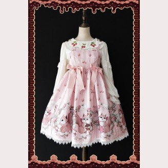 Infanta Three Little Squirrels Lolita Dress JSK & KC Set