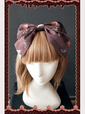 Infanta Three Little Squirrels Lolita Headbow KC