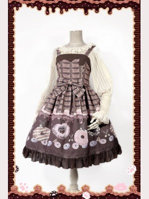 Infanta Donuts Lolita Dress JSK