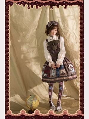 Infanta Magic Dictionary Lolita Jumper Skirt