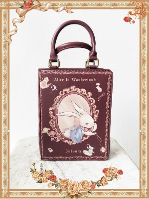 Infanta The Book of Alice In Wonderland Lolita Handbag