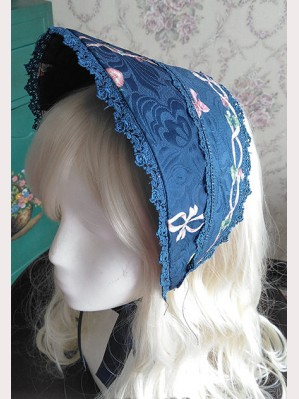 "Infanta ""Picnic Rabbit"" Daily Verison matching bonnet"