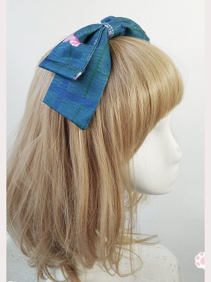 "Infanta ""Bear & Rabbit"" Lolita Headbow KC"