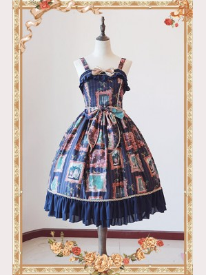 "Infanta ""Frame"" Lolita Dress JSK"