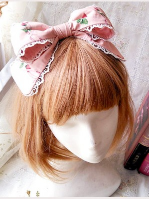 "Infanta ""Picnic Rabbit"" Matching Headbow KC"