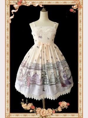 Infanta Antique dress shop Lolita Dress JSK & KC Set