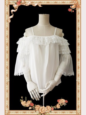 Infanta Antique dress shop steampunk Lolita Blouse