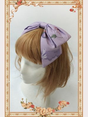 Infanta Berry Cat Matching headbow KC