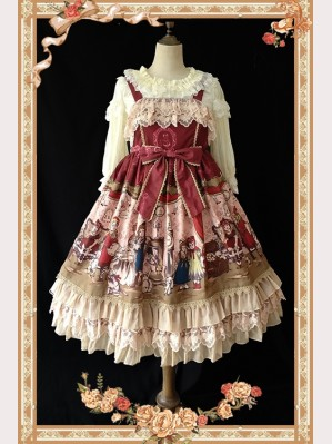 Infanta Doll House lolita dress JSK