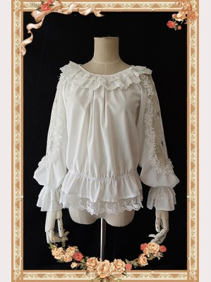 "Infanta ""Jenny cookies"" series lace Lolita Blouse"