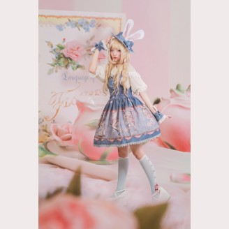 Infanta The Book of Alice Mystery Lolita Jumper Skirt