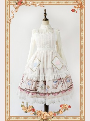 Infanta The Book of Alice Mystery Matching Lolita Apron